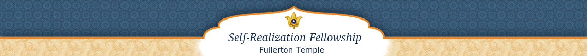 Self-Realization Fellowship - Fullerton Temple