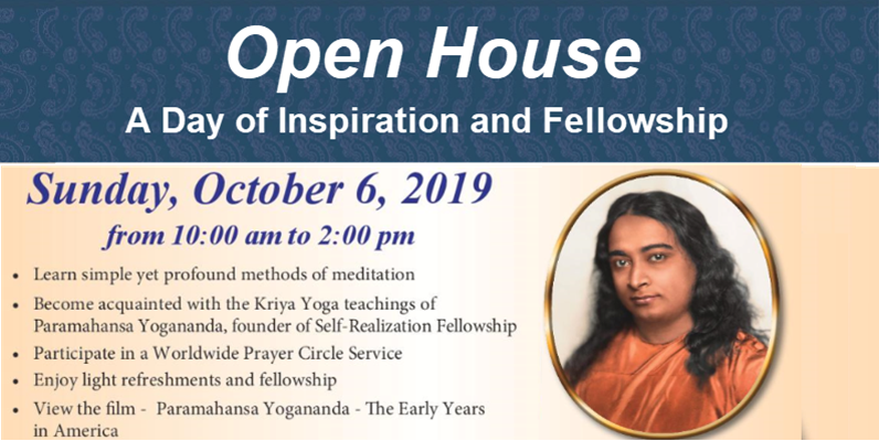 Open House – A Day of Inspiration and Fellowship